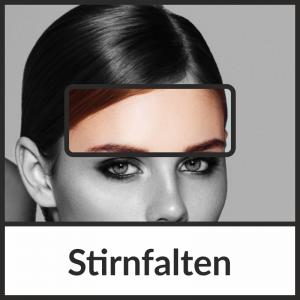 Faltenbehandlung der Stirnfalten mit Botulinumtoxin (BTX)